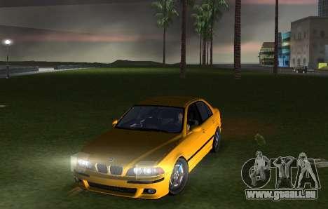 BMW M5 E39 pour une vue GTA Vice City de la droite