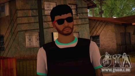 GTA 5 Online Skin 15 pour GTA San Andreas troisième écran