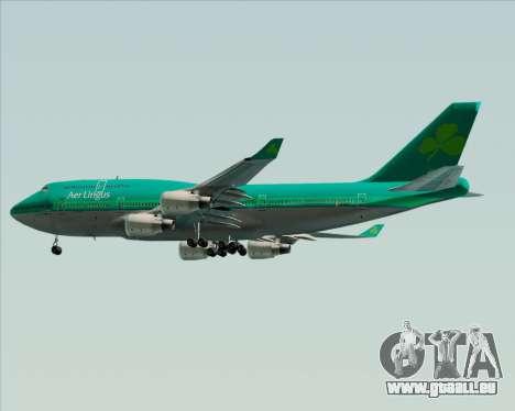 Boeing 747-400 Aer Lingus für GTA San Andreas Innenansicht