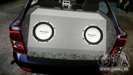 ВАЗ-21728 LADA Priora Coupe für GTA 4 obere Ansicht