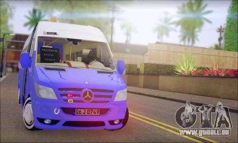 Mercedes-Benz Sprinter Ostim Dolmus für GTA San Andreas