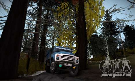 Piste off-road 2.0 pour GTA San Andreas