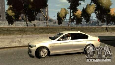 BMW 525 F10 pour GTA 4