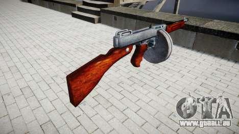 Pistolet mitrailleur Thompson M1A1 tambour icon3 pour GTA 4 secondes d'écran