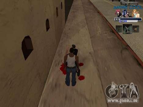 Anime C-HUD für GTA San Andreas