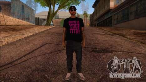 GTA 5 Online Skin 12 pour GTA San Andreas