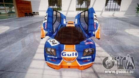 McLaren F1 1993 [EPM] Gulf 34 pour GTA 4 est une vue de dessous