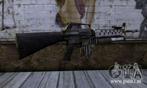M4 from Call of Duty: Black Ops v2 für GTA San Andreas zweiten Screenshot