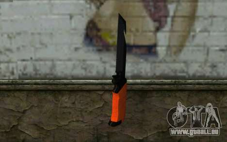 Knife from Battlefield 3 pour GTA San Andreas