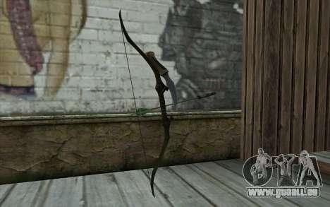 Green Arrow Bow v1 pour GTA San Andreas deuxième écran