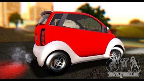 GTA 5 Benefactor Panto IVF pour GTA San Andreas laissé vue