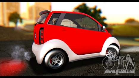 GTA 5 Benefactor Panto IVF für GTA San Andreas linke Ansicht