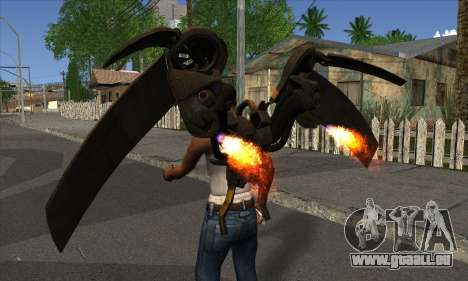 Jetpack from Batman Arkham Origins für GTA San Andreas