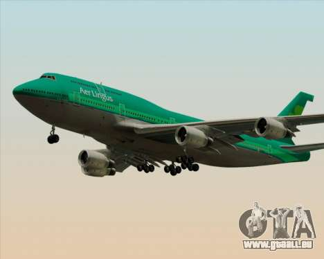 Boeing 747-400 Aer Lingus für GTA San Andreas Räder