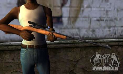 Sniper Rifle from The Walking Dead für GTA San Andreas dritten Screenshot