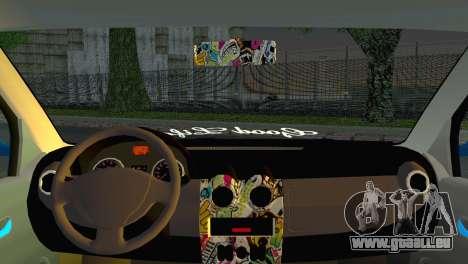 Dacia Logan Simply Clean für GTA San Andreas zurück linke Ansicht