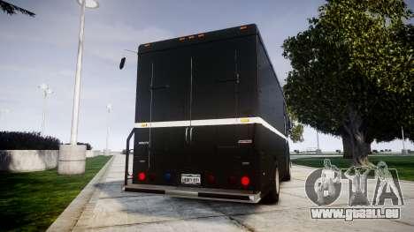 Brute Boxville N.O.O.S.E pour GTA 4 Vue arrière de la gauche