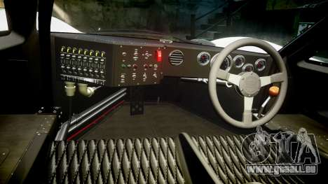 Ford GT40 Mark IV 1967 PJ Campbell 5 für GTA 4 Rückansicht
