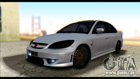 Honda Civic VteC pour GTA San Andreas