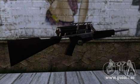 Calico M951S from Warface v1 pour GTA San Andreas deuxième écran