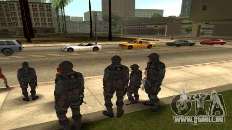 Skin Third Echelon für GTA San Andreas zweiten Screenshot