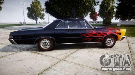 Pontiac GTO 1965 Flames pour GTA 4 est une gauche