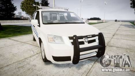 Dodge Grand Caravan [ELS] Liberty County Sheriff pour GTA 4