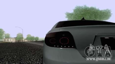 Toyota Vios Extreme Edition pour GTA San Andreas vue de côté