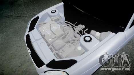 VAZ-2170 meilleur pour GTA 4 est une vue de l'intérieur