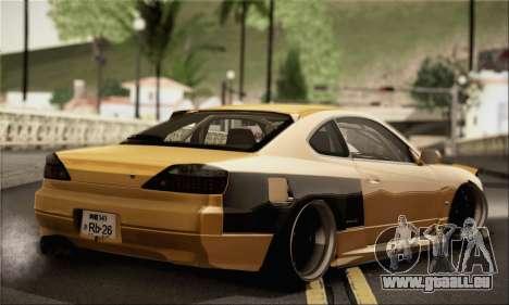 Nissan Silvia S24-5 (215SX) für GTA San Andreas linke Ansicht