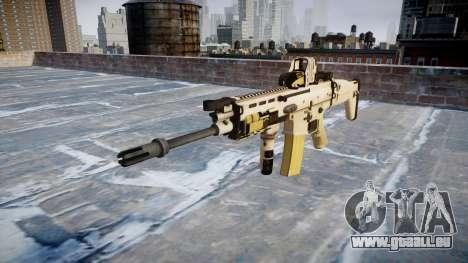 La Machine FN SCAR-L Mc 16 icon2 pour GTA 4