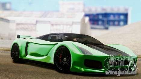 Ferrari Velocita 2013 für GTA San Andreas