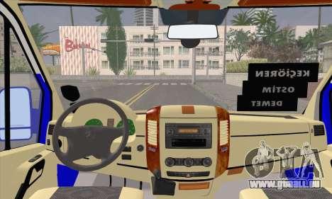 Mercedes-Benz Sprinter Ostim Dolmus für GTA San Andreas rechten Ansicht