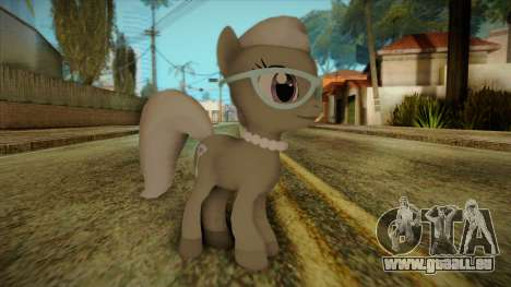 Silverspoon from My Little Pony pour GTA San Andreas