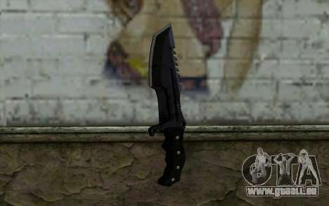Knife from COD: Ghosts v2 pour GTA San Andreas