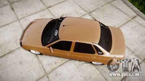 ВАЗ-2170 Installiert Priorin Qualität für GTA 4 rechte Ansicht
