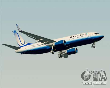 Boeing 737-800 United Airlines pour GTA San Andreas roue