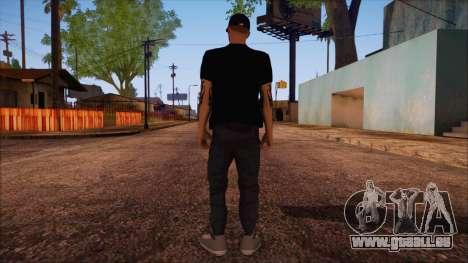 GTA 5 Online Skin 12 pour GTA San Andreas deuxième écran