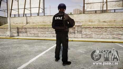 Les uniformes de l'agression des groupes spéciau pour GTA 4 troisième écran