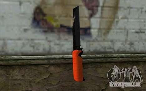 Knife from Battlefield 3 pour GTA San Andreas deuxième écran