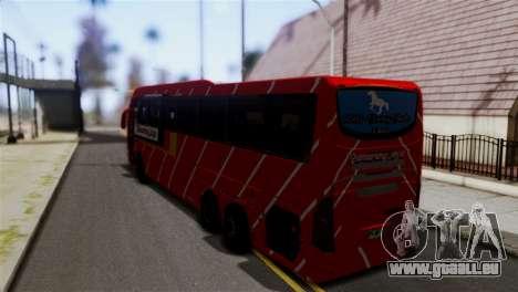 Volvo Gumarang Jaya für GTA San Andreas linke Ansicht