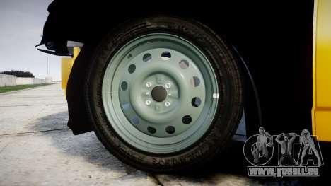 VAZ-Lada 2170 Priora hobo pour GTA 4 Vue arrière