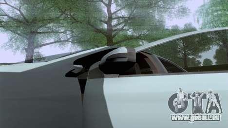 Toyota Vios Extreme Edition pour GTA San Andreas vue de droite