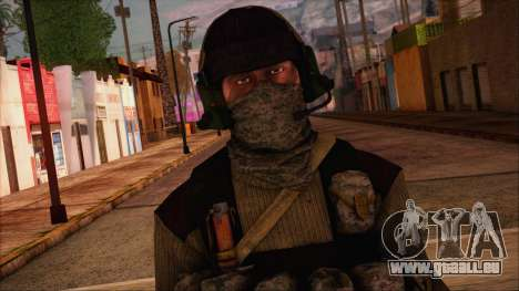 Recon from Battlefield 3 für GTA San Andreas dritten Screenshot