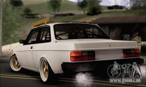 Volvo 242 pour GTA San Andreas laissé vue