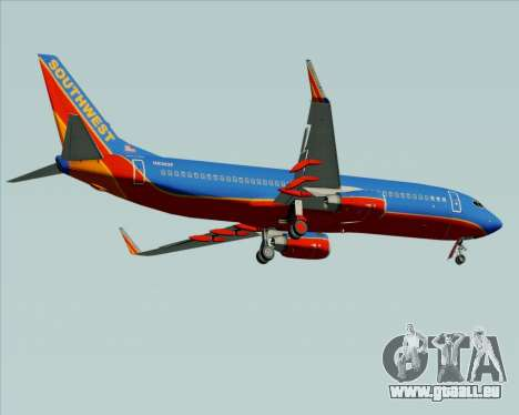 Boeing 737-800 Southwest Airlines pour GTA San Andreas