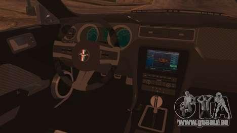 Ford Mustang Boss 302 2012 für GTA San Andreas rechten Ansicht
