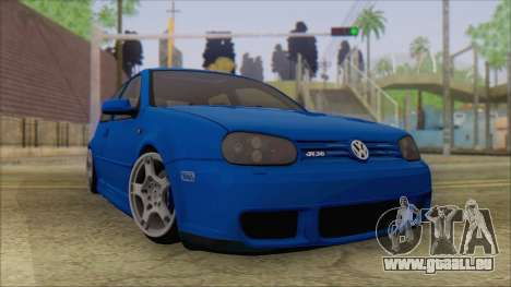 Volkswagen Golf 4 R36 pour GTA San Andreas