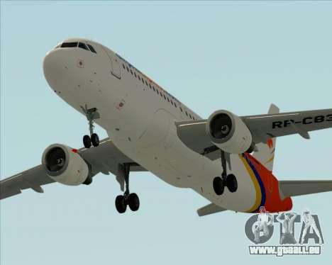 Airbus A320-200 Airphil Express pour GTA San Andreas moteur