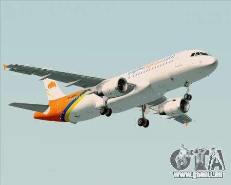 Airbus A320-200 Airphil Express pour GTA San Andreas roue